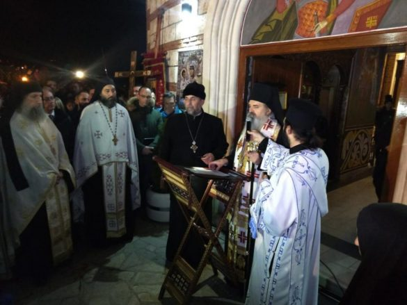 Молебан и литија на северу Косова за светиње и православни народ Црне Горе