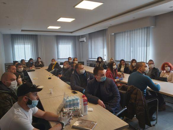 Седница Кризног штаба и састанак са волонтерима