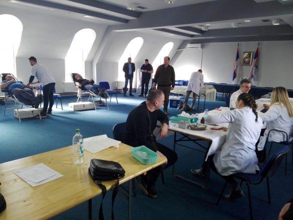 Хуманост на делу – Акција добровољног давања крви у Општини Звечан