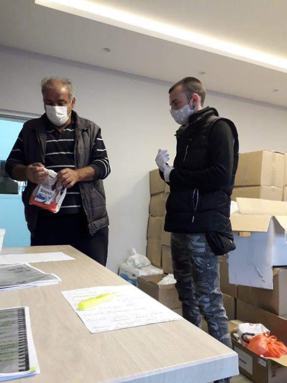 Један новооболели, један излечени, пакети хране и хемије за запослене у ЈКСП Звечан