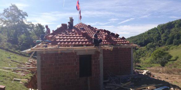 У току изградња стамбеног објекта за породицу Цмиљковић у Вилишту